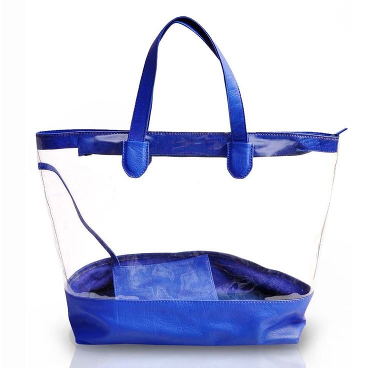 Buy online #blue ladies leather shopping #BAG for Rs.3,780/- at voganow.com