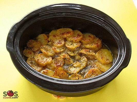 Casserole de porc et pommes de terre [mijoteuse]
