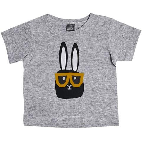 For little hipsters! #Hektik #Flap with #glasses #shirt #bmini #konijn #bril