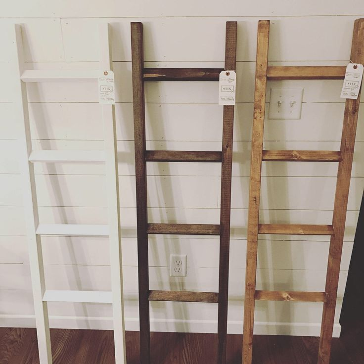 The Minimalistic Blanket Ladder by StixHomeGoods on Etsy https://www.etsy.com/listing/468414857/the-minimalistic-blanket-ladder