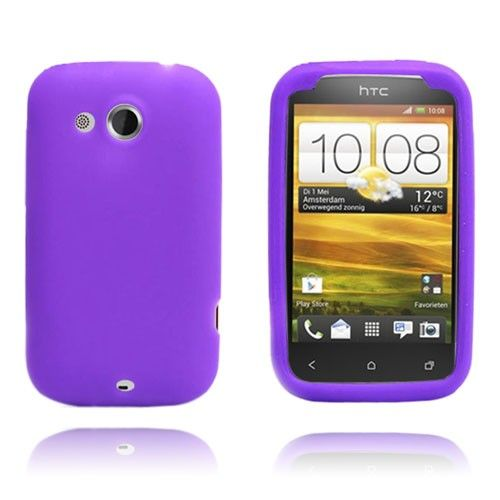 Soft Shell (Purple) HTC Desire C
