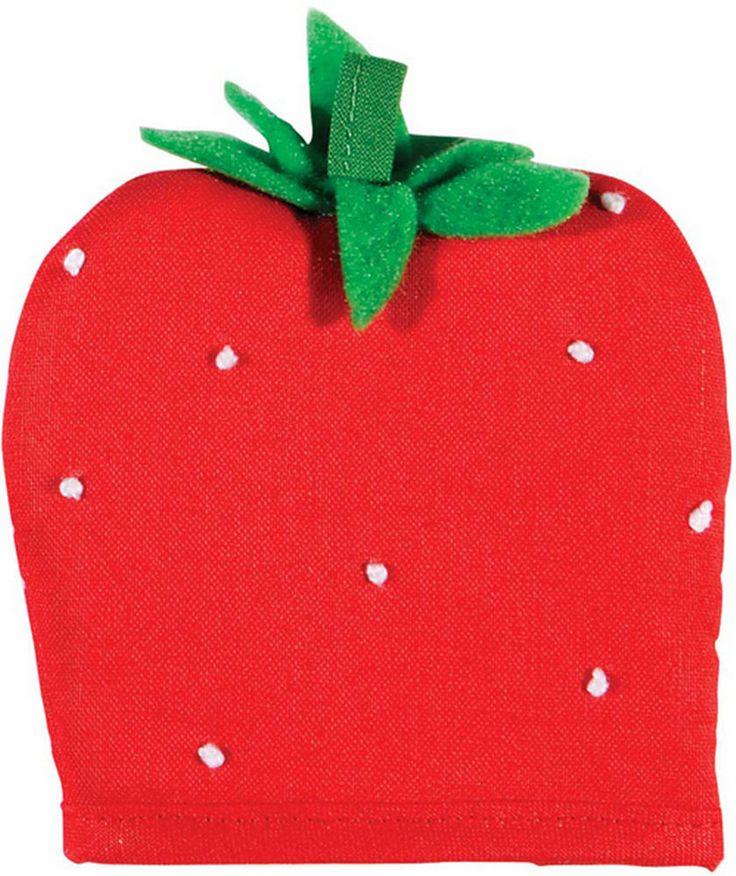 """6 klasse EIERWÄRMER Motiv Erdbeere """"Strawberry"""" v. Ulster Weavers"""