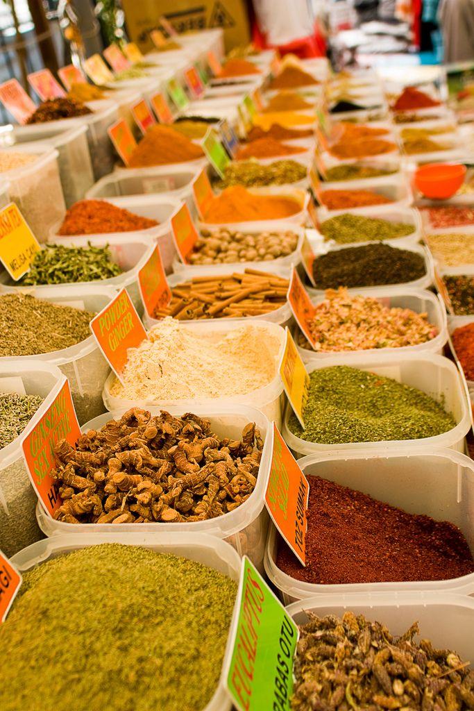 Spice market . Bodrum Turkey