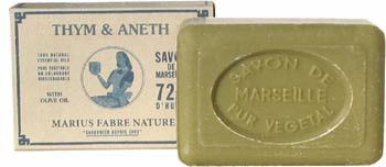 Marius Fabre Thyme and Dill Marseilles Soap