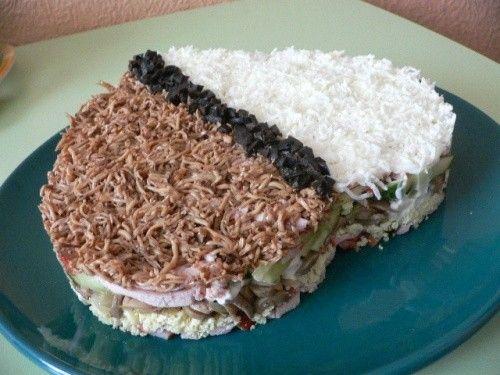 Рецепты оригинальных салатов закусок