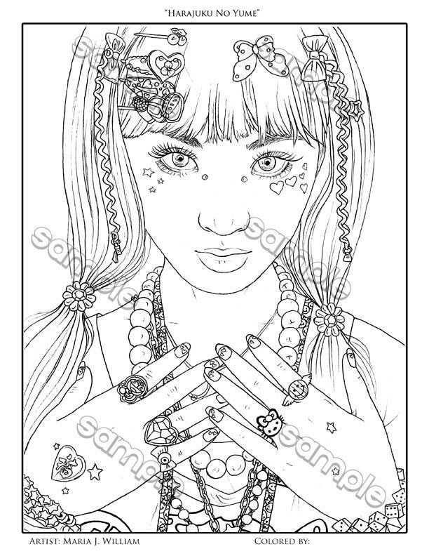 Coloring Pages for Girls - Best Coloring Pages For Kids | 792x612