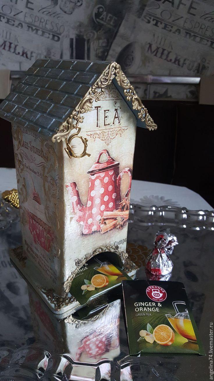 """Купить Чайный домик """" Чайная сказка"""" - бирюзовый, чай, чайный домик"""