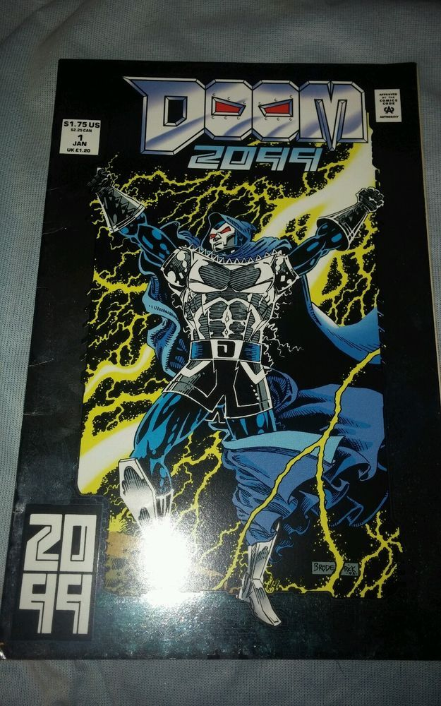 Marvel Comics DOOM #1 bagged and boarded Jan. 1993