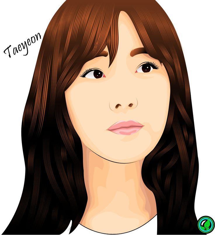 Taeyeon SNSD Vexel