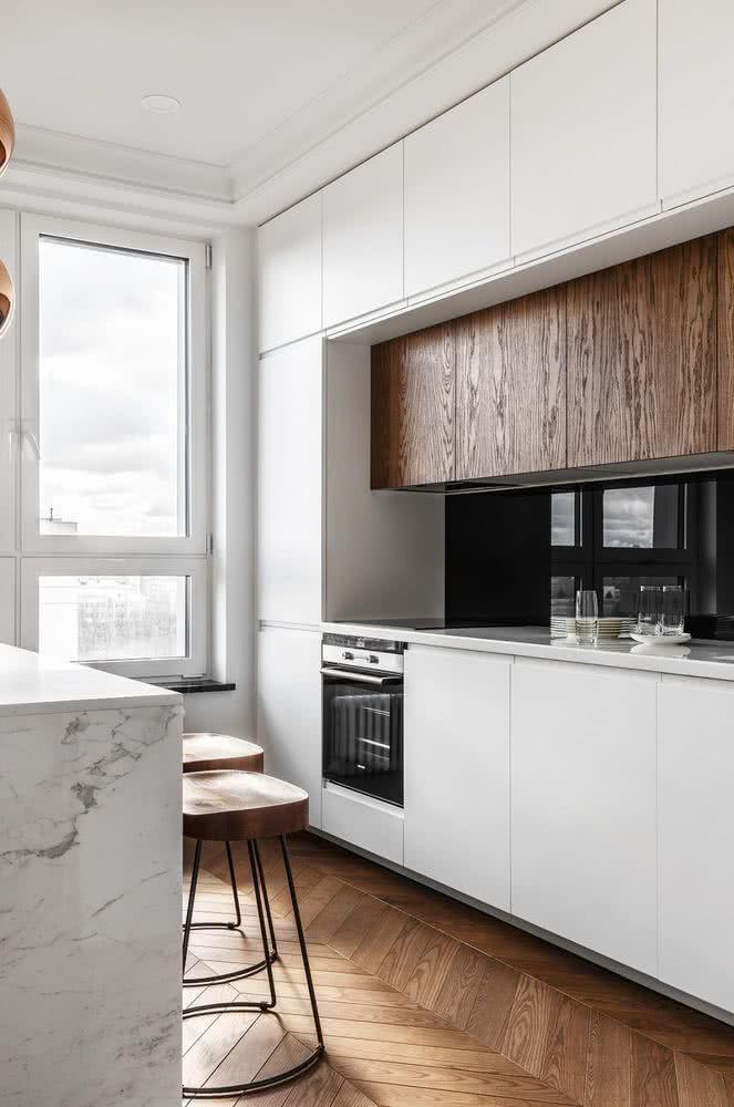 Cuisines Modernes 2020 2019 Modeles De Modeles 150 Images Cuisine Moderne Agencement Cuisine Cuisine Bois Moderne