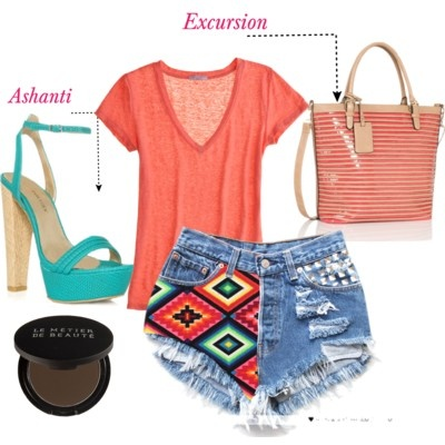 Outfit: Fashion 3, Summer 3Clothes, Outfit Ideas, Fashion Style, Clothes Outfits, Excursion Tote, Full Outfits, Summer Outfits