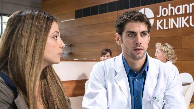 Die jungen Ärzte Folge 15 - Auf Herz und Nieren | Arzu Ritter (Arzu Bazman) & Dr. Niklas Ahrend (Roy Peter Link)