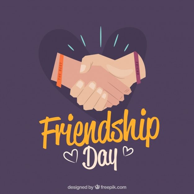 Friendship Day Background With Hands Free Vector Friendship Day Images Friendship Day Photos Friendship Day Pictures