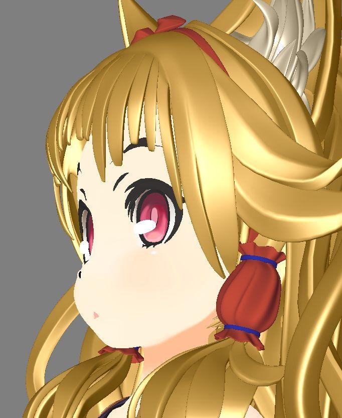 ニコニ立体 3Dモデリングコンテスト入賞作『七尾の狐 七尾色』 メイキング特集 〜前編〜 | 特集 | CGWORLD.jp