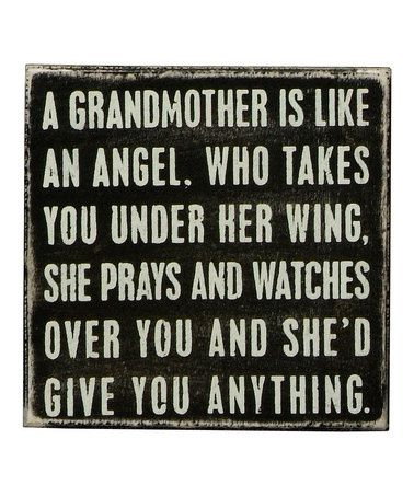 Oh Gran I miss you so much.