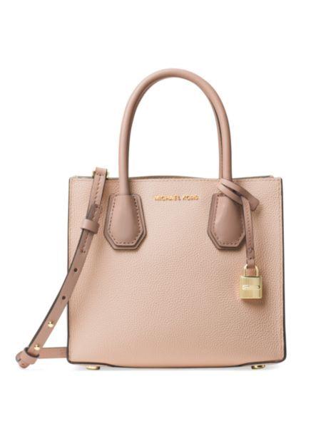 801e611bc382 MICHAEL MICHAEL KORS - Medium Mercer Leather Messenger Bag