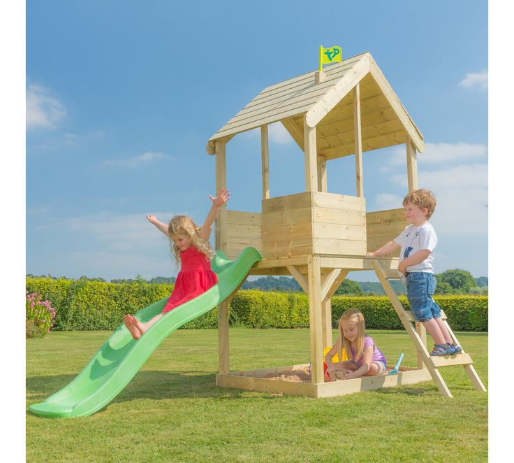Buy TP Wooden Multiplay Playhouse at Argos.co.uk, visit Argos.co.uk to shop online for Activity centres, Playhouses and activity centres, Outdoor toys, Toys