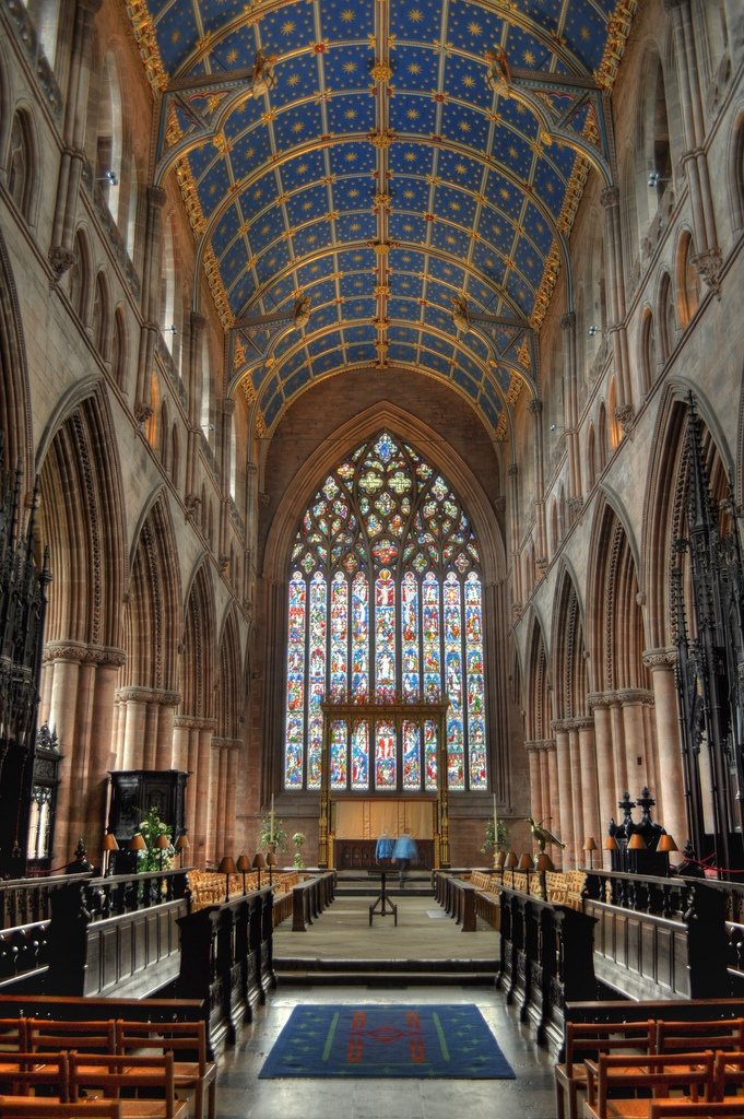 Cathedral Church of the Holy and Undivided Trinity (a.k.a., Carlisle Cathedral), Carlisle, Cumbria,  England