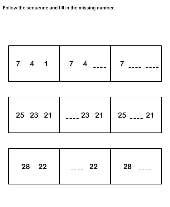 math worksheet : number sequence worksheetsmath worksheets kindergarten  : K12 Worksheets Math