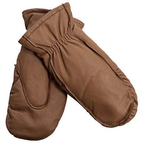 Auclair Moccasin Finger Sheepskin Gloves-Mittens (For Women) - Save 71%