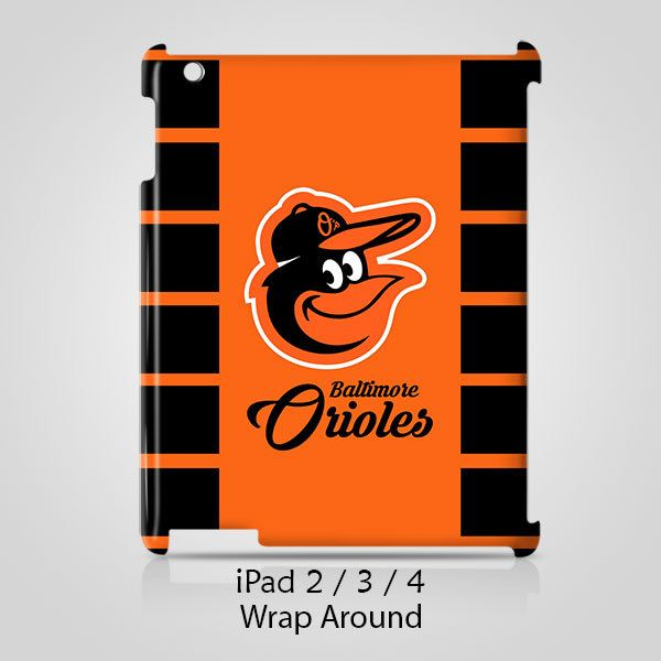 Baltimore Orioles Logo iPad 2 3 4 Case Cover