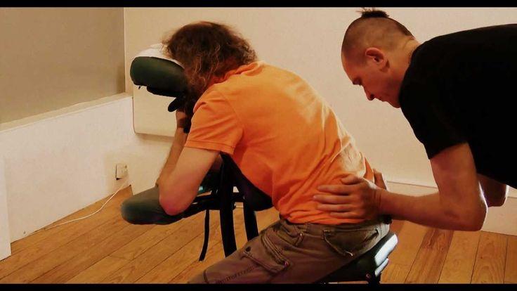 (Mahaksa)Maha Milan: Chair Massage: London 2012