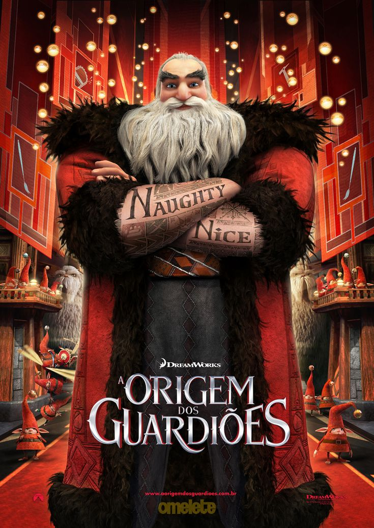 Origem dos Guardioes Poster North