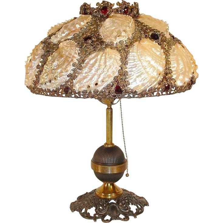 from wall for indoor mermaid lamp shell bedside lights item tiffany iron baroque lighting lamps in ac vintage home