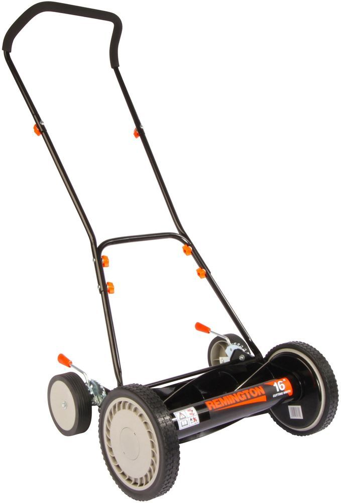 "NEW Remington RM3000 16"" Walk-Behind Manual Reel Push Lawn Mower Grass Trimmer #Remington"