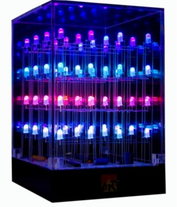 Geek Led Light Show Cube - Click to enlarge
