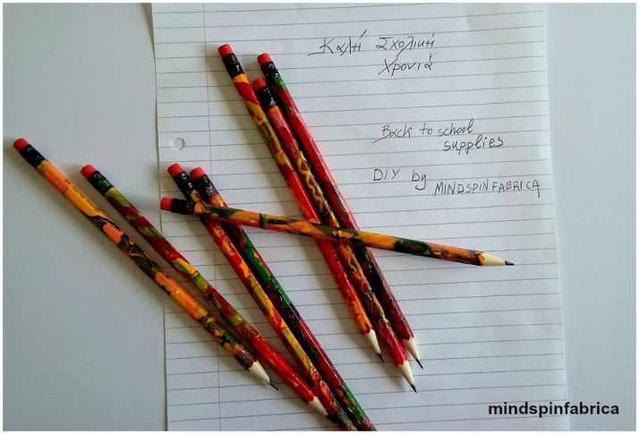 Diy colourful pencils_mindspinfabrica