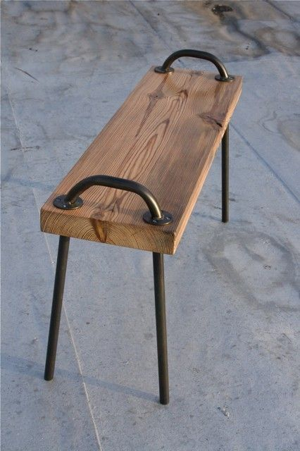 Stool Idea.2 handles 4 legs piece oak lovely. & Best 25+ Diy stool ideas on Pinterest | Tire ottoman Weekend ... islam-shia.org