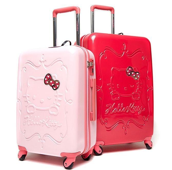 Yup It's the Hello Kitty, Sanrio Suitcase
