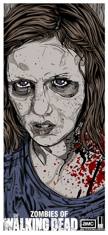 Sophia the walking dead; by Danny Miller