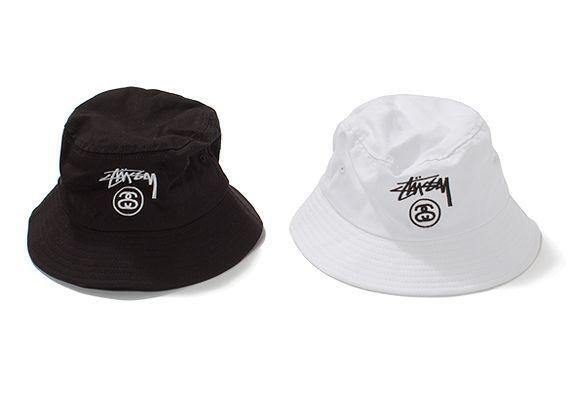 stussy bucket hat white - Google Search