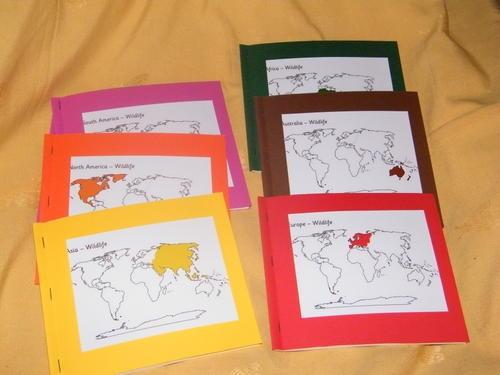 Livrets géographie