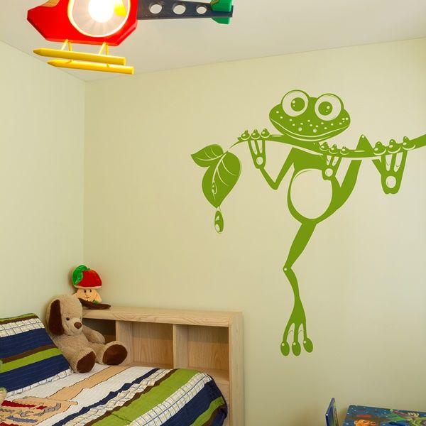 29 best vinilos infantiles para paredes images on pinterest for Mural para habitacion