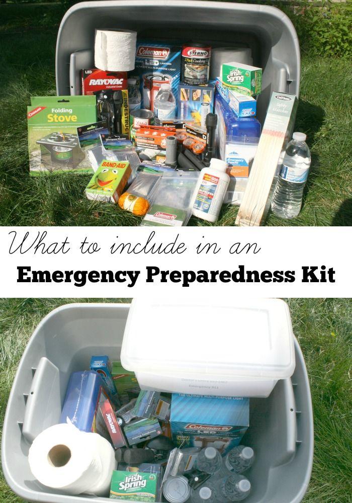 How to Build an Emergency Preparedness Kit #ProjectEnvolve #GetPrepared