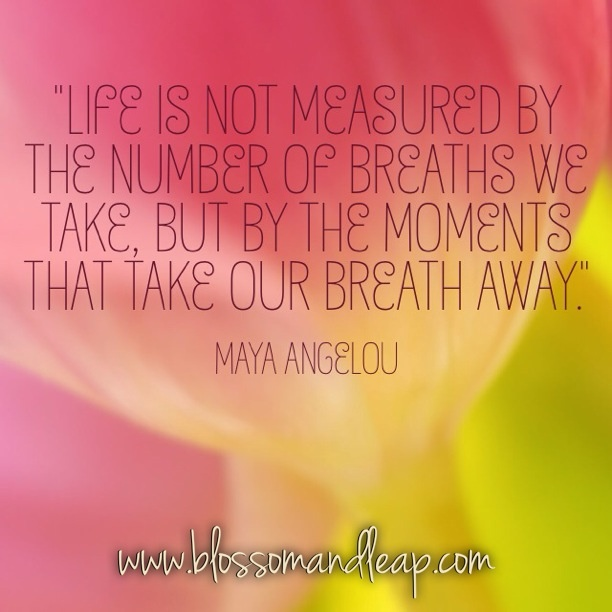 Life S Not About The Breaths You Take Quote: Life Is Not Measured By The Number