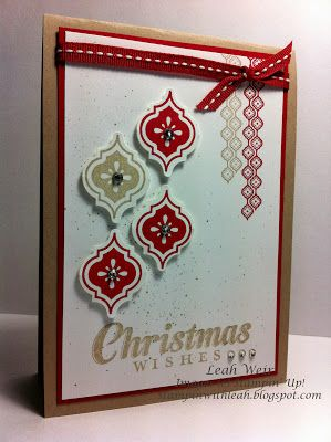 Just Add Ink 183 - Stampin Up Mosaic Madness - By Leah Weir