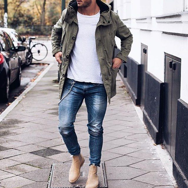 Tag someone you think would look good in this outfit #menwithstreetstyle. -----Myself....