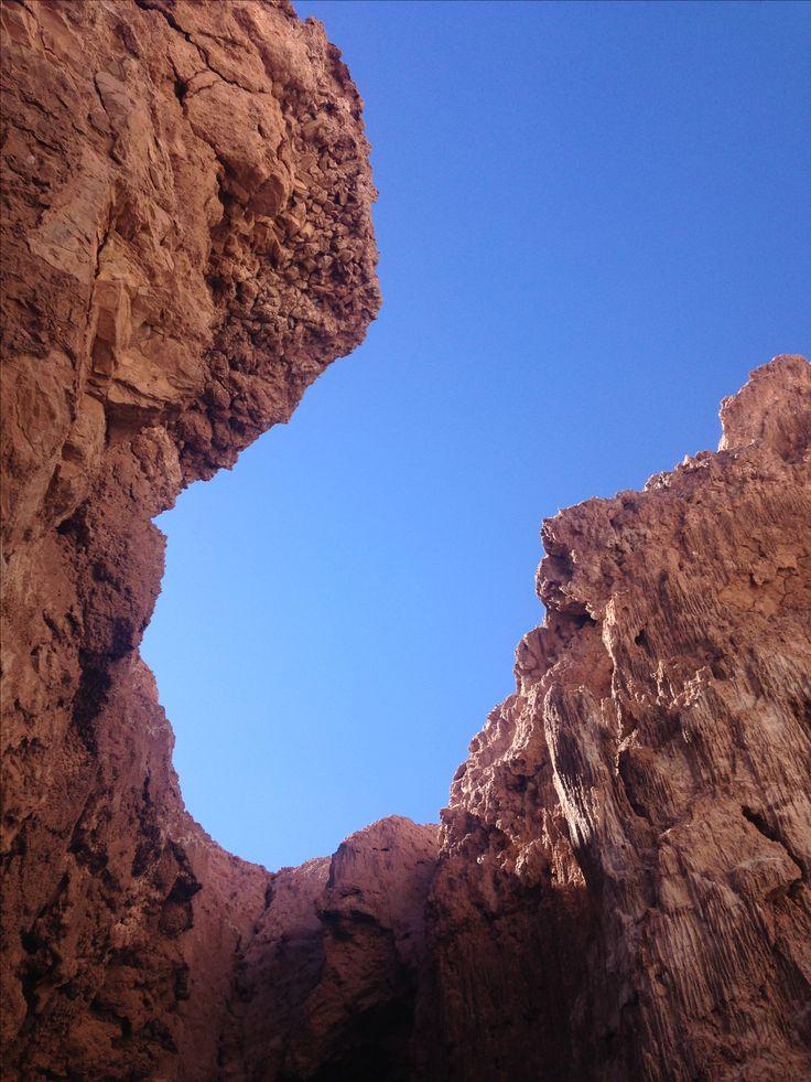 Valle de la Luna Caverna de sal