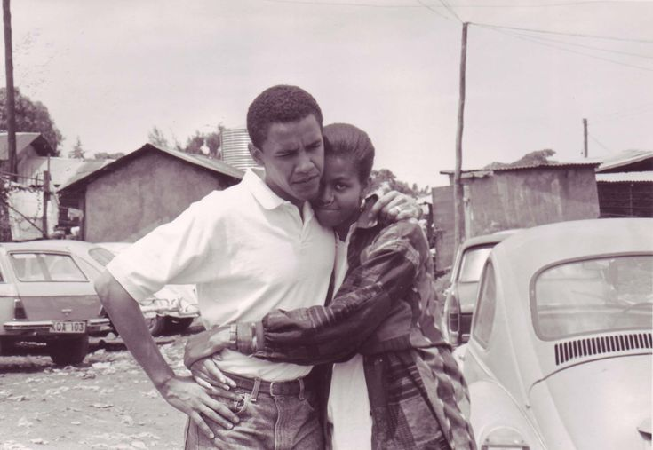 Barry and Michelle... before they became Mr. President and the First Lady. #lovemypresident