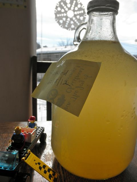 Homemade Ginger Ale - reminds me of Dad's homemade rootbeer. It used to explode in our attic! LOL!