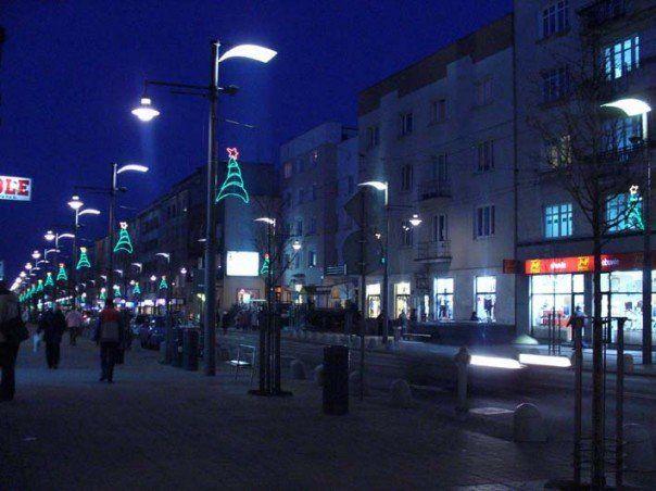 Świętojańska w zimowy wieczór
