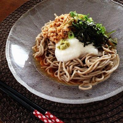 お昼ごはんは 『納豆とろろそば』 by cocoko*さん | レシピブログ ...