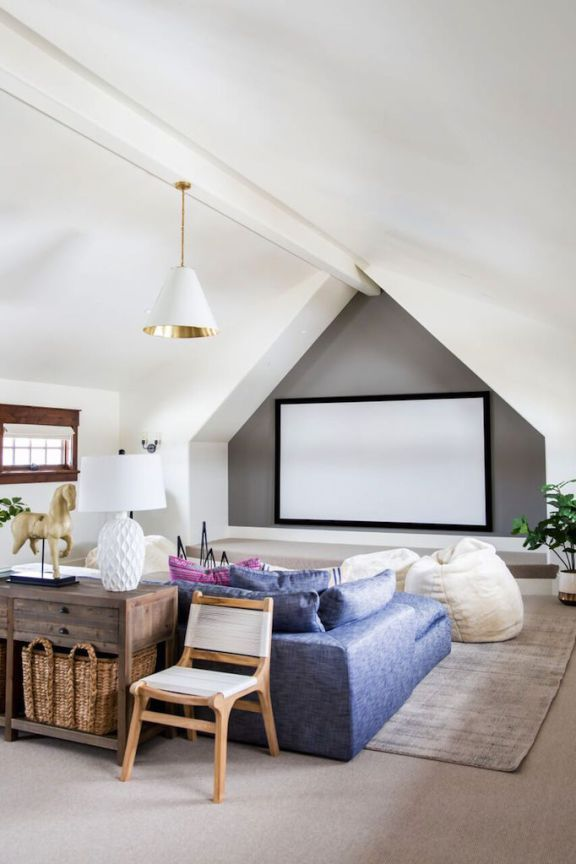 How To Create The Modern Media Roombecki Owens Media Room Home Theater Seating Media Room Design