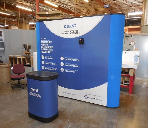 Exhibition Booth Banner : Best banner stands indianapolis exhibit solutions
