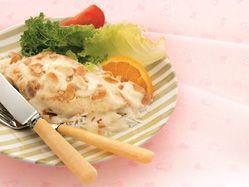 Baked almond chicken