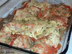 Bife à parmeggiana de forno   Carnes > Bife à Parmegiana   Receitas Gshow